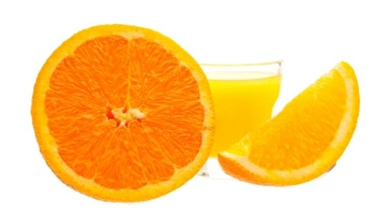 sinaasappel essentiële olie orange.