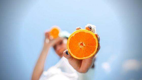 sinaasappel orange essentiële olie.